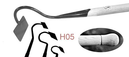 HO5 Long Swan-Necked Draw Hoe