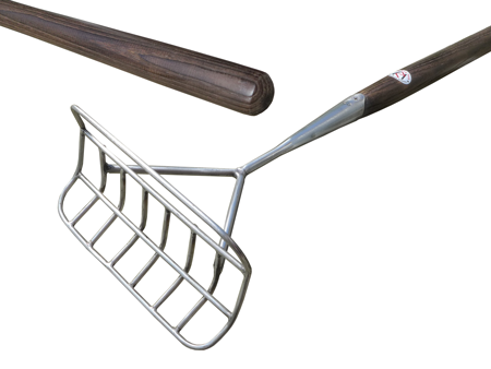 MAN5B Manx Ridging Hoe and Harvester - made to order with burnished shaft